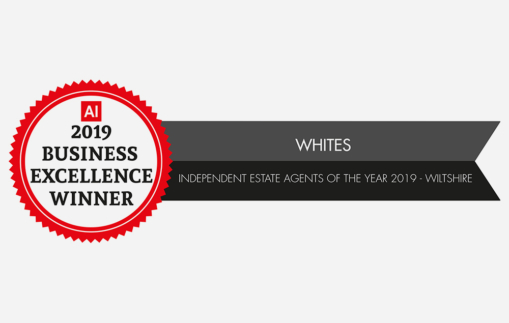 Whites Estate Agents awarded Independent Estate Agent of the Year for Wiltshire Tuesday 14th May 2019