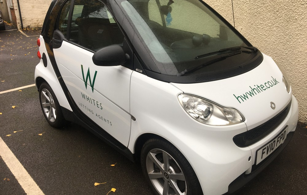Our newest member of the Whites Fleet Friday 27th November 2020